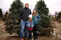 Barnett Family {Christmas tree farm}