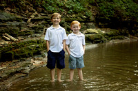 Jones Boys {Creek Session}